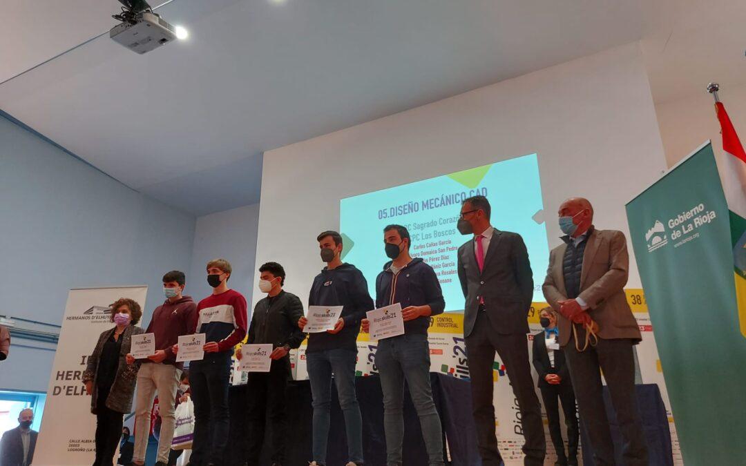 La FP exhibe sus capacidades en el campeonato 'RiojaSkills'